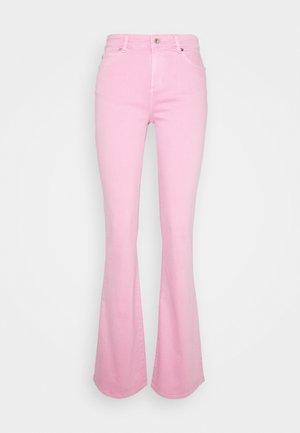 TARA  VINTAGE - Flared jeans - bright rose