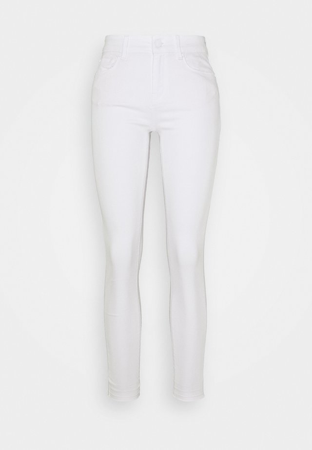 ALEXA ANKLE - Jeansy Skinny Fit - white