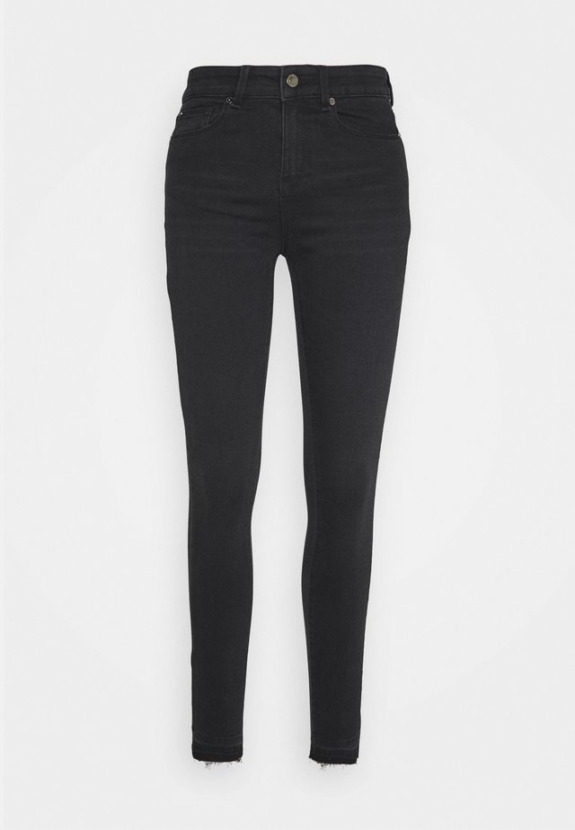 ALEXA ANKLE COOL - Jeansy Skinny Fit - black