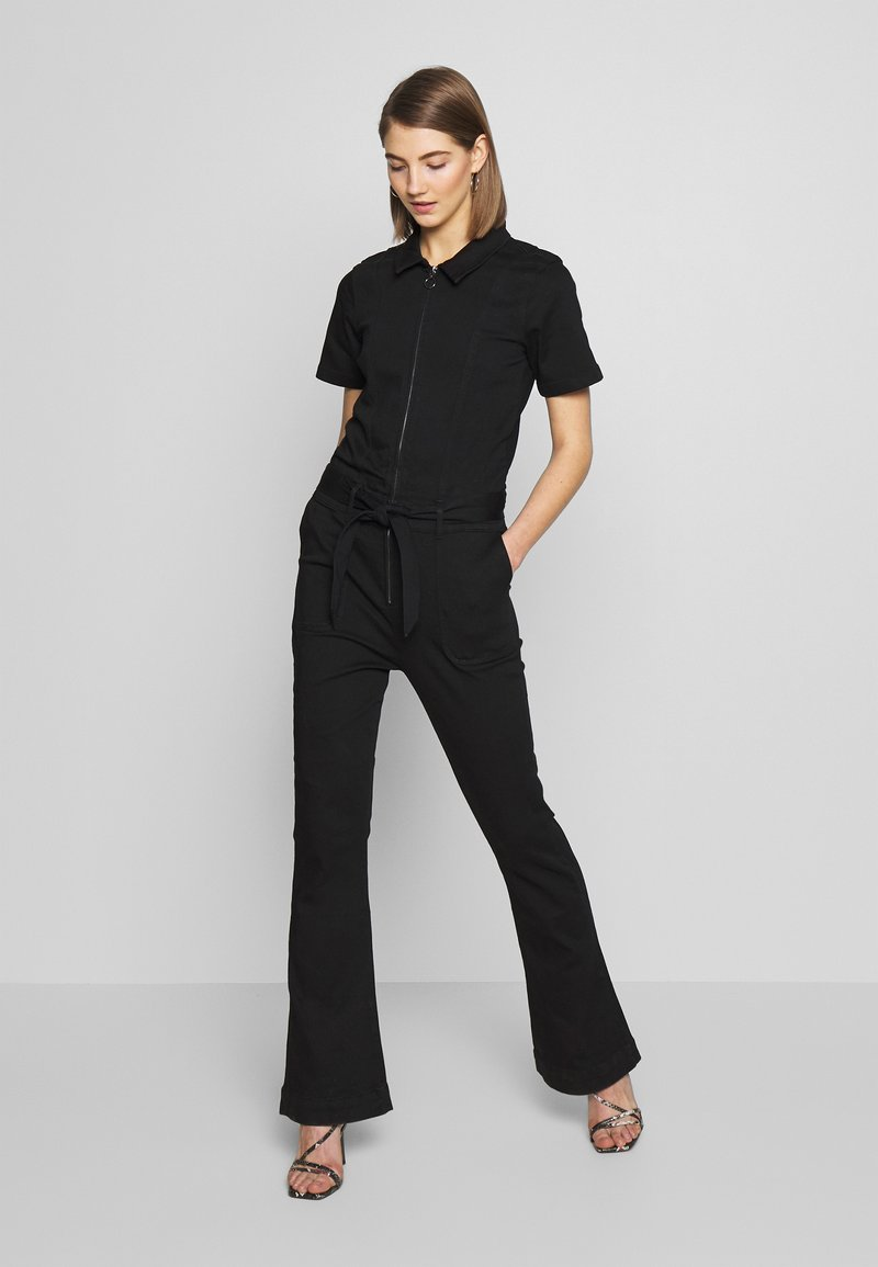 Ivy Copenhagen - CHARLOTTE FLARE TRACKSUIT COOL - Overall / Jumpsuit /Buksedragter - black