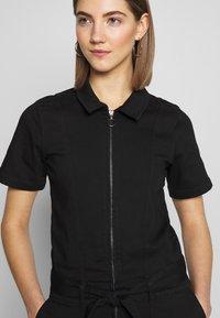 Ivy Copenhagen - CHARLOTTE FLARE TRACKSUIT COOL - Overall / Jumpsuit /Buksedragter - black - 5