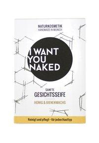 I WANT YOU NAKED - FACE SOAP 100G - Savon en barre - honig & bienenwachs - 1