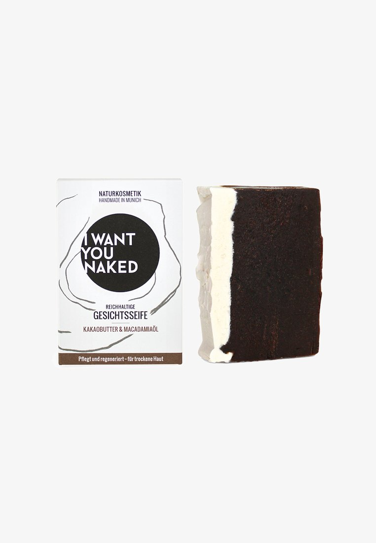 I WANT YOU NAKED - FACE SOAP 100G - Seife - kakaobutter & macadamia-öl