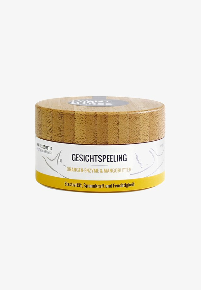 FACE SCRUB 100ML - Gesichtspeeling - orange & mangobutter