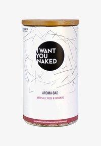 I WANT YOU NAKED - AROMA BATH 620G - Bubble bath & soak - rose & hibiskus - 0