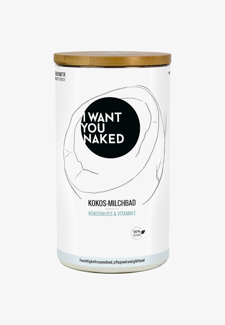 I WANT YOU NAKED - COCONUT MILK BATH 400G - Sels de bain & bain moussant - kokosnuss & vitamin e