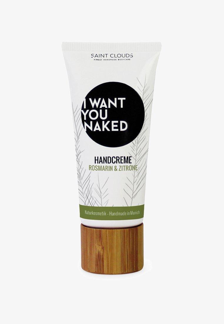 I WANT YOU NAKED - HAND CREAM 60ML - Handcrème - rosmarin & zitrone