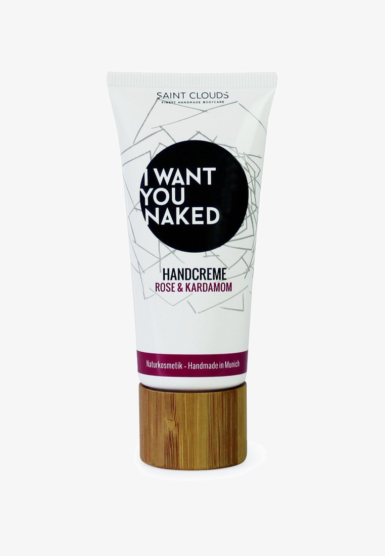 I WANT YOU NAKED - HAND CREAM 60ML - Crème mains - rose & kardamom
