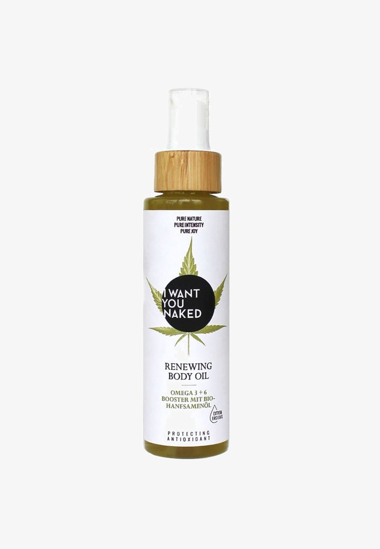 I WANT YOU NAKED - RENEWING BODY OIL - Lichaamsolie - -