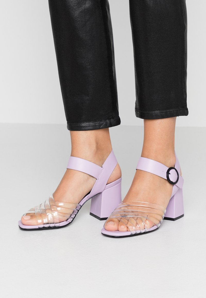Sixtyseven - Sandales - translucent/lilac