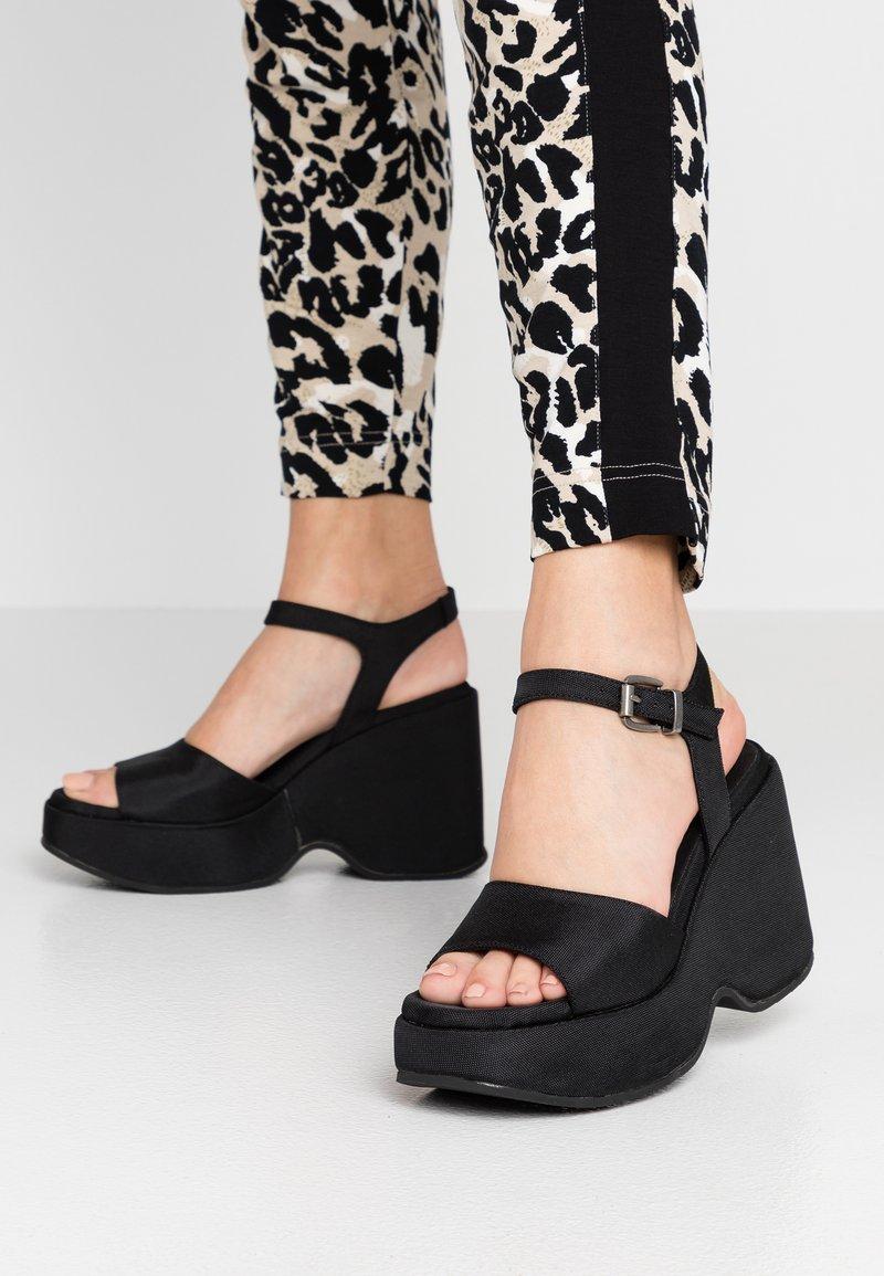 Sixtyseven - Sandaler med høye hæler - black