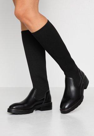 EBYSU - Platform boots - black