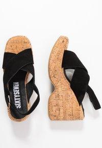 Sixtyseven - NOISE - Sandály na vysokém podpatku - black - 3