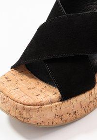 Sixtyseven - NOISE - Sandály na vysokém podpatku - black - 2