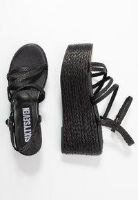 Sixtyseven - NALIA - Sandály na vysokém podpatku - black - 1