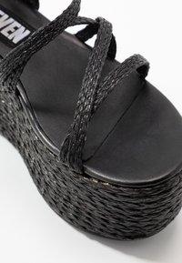 Sixtyseven - NALIA - Sandály na vysokém podpatku - black - 5