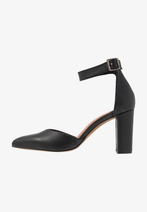 High Heel Pumps - sedona black