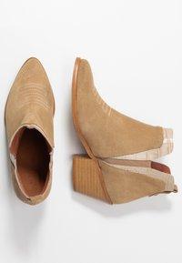 Sixtyseven - SIGALA - Boots à talons - milda sand/rabat sand - 3