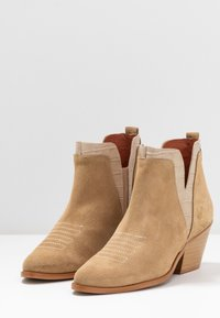 Sixtyseven - SIGALA - Boots à talons - milda sand/rabat sand - 4