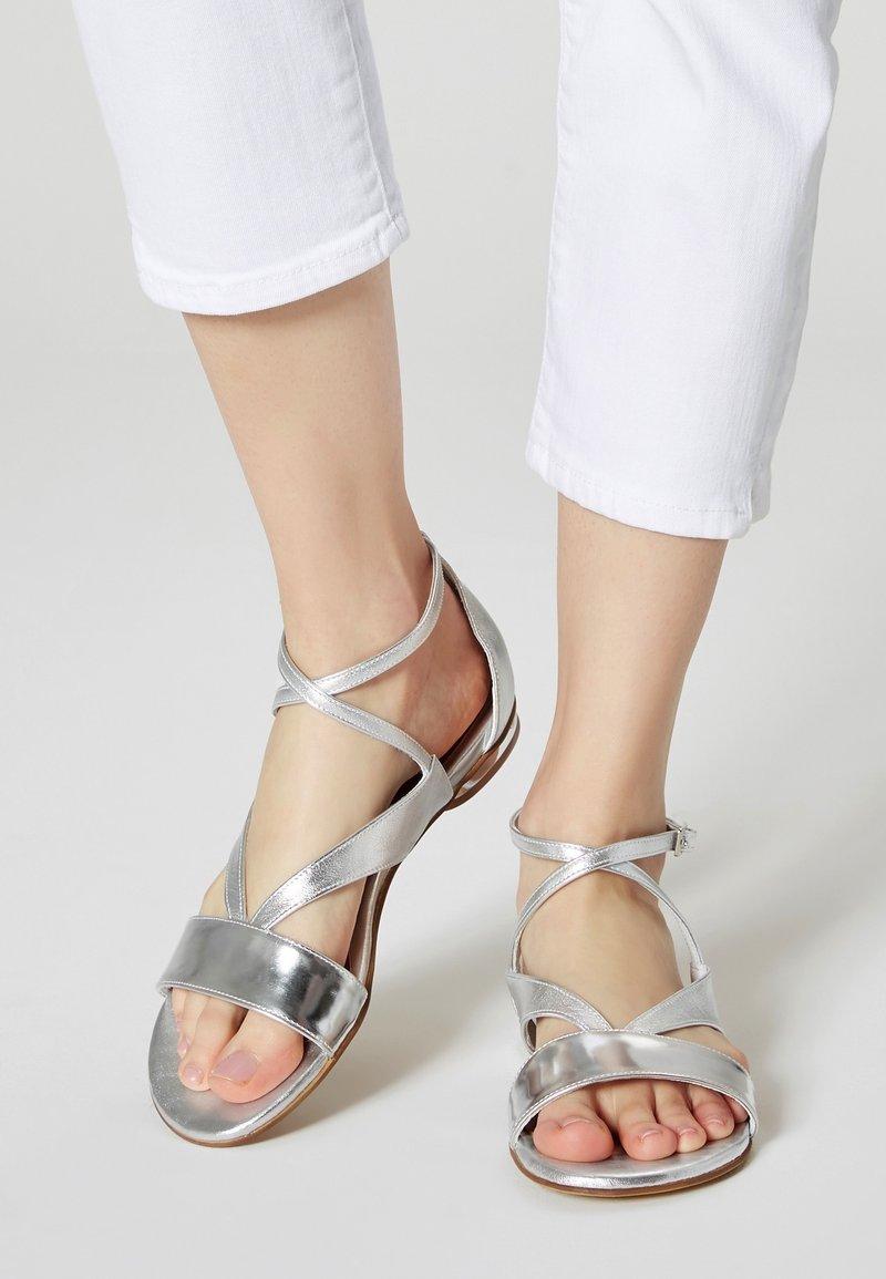 IZIA - Sandals - silver