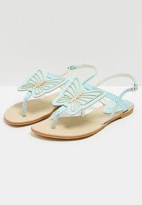IZIA - T-bar sandals - light blue - 3