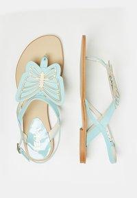 IZIA - T-bar sandals - light blue - 2