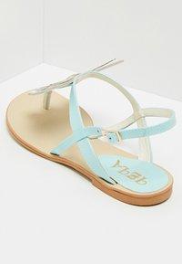IZIA - T-bar sandals - light blue - 4