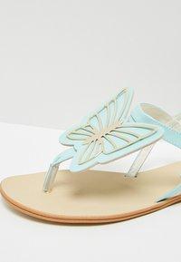 IZIA - T-bar sandals - light blue - 6