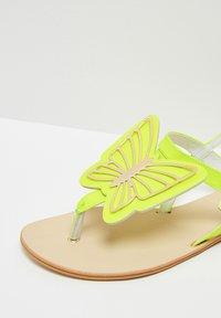 IZIA - T-bar sandals - lime - 6