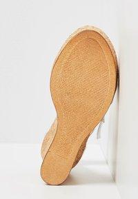 IZIA - High heeled sandals - silver - 5