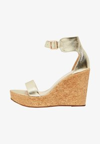 IZIA - High heeled sandals - gold - 1