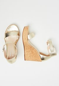 IZIA - High heeled sandals - gold - 2