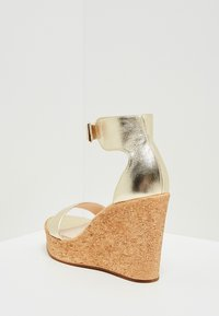 IZIA - High heeled sandals - gold - 4