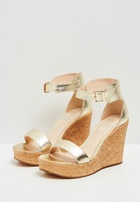 IZIA - High heeled sandals - gold - 3