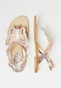 IZIA - T-bar sandals - rose gold - 2