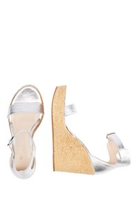 IZIA - High heeled sandals - silber - 2