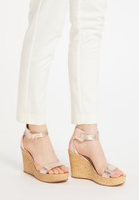 IZIA - High heeled sandals - rosa - 0