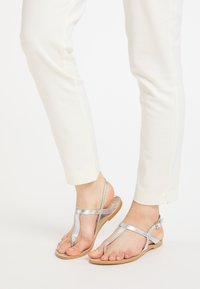 IZIA - T-bar sandals - silber - 0