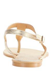 IZIA - T-bar sandals - gold - 3