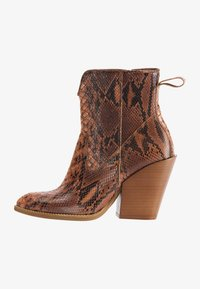 IZIA - High heeled ankle boots - schlange - 1