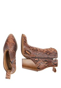 IZIA - High heeled ankle boots - schlange - 2