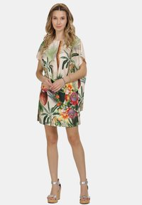 IZIA - IZIA ROCK - A-line skirt - tropical print - 1