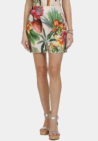 IZIA - IZIA ROCK - A-line skirt - tropical print - 0