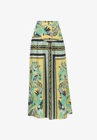 IZIA - IZIA ROCK - Maxi skirt - tropical print - 4