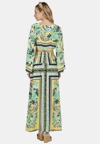 IZIA - IZIA ROCK - Maxi skirt - tropical print - 2