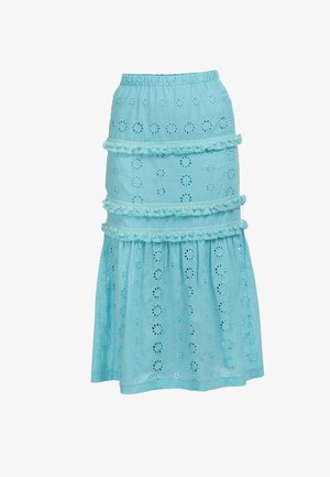 IZIA ROCK - Maxi skirt - wasser