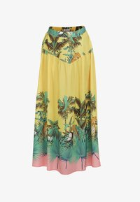 IZIA - Pleated skirt - tropical print - 4