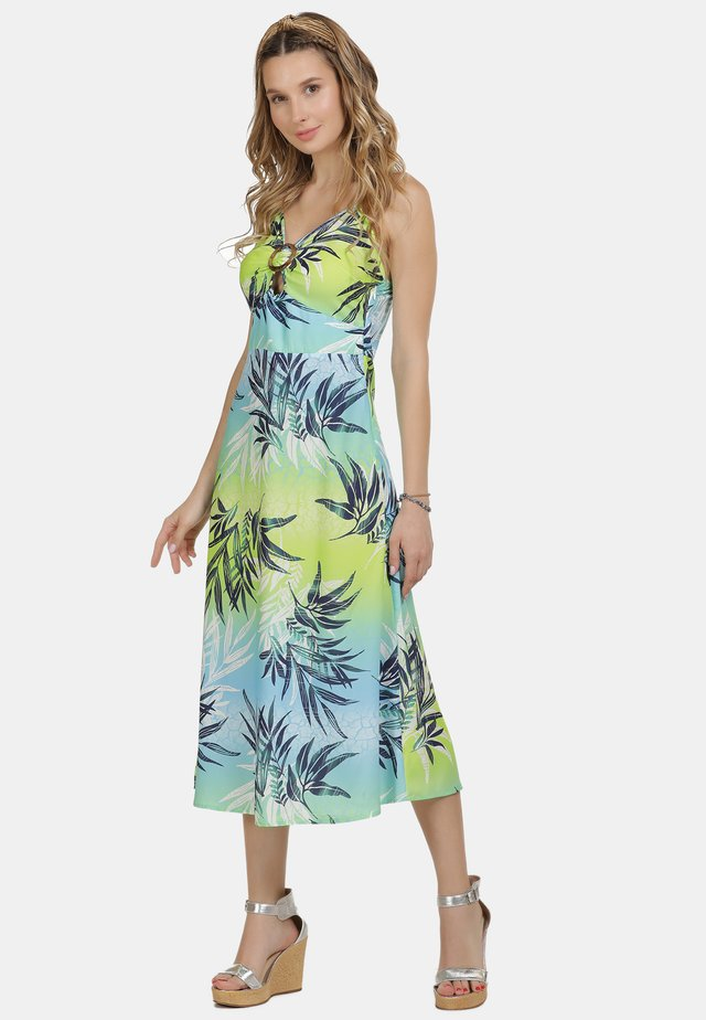 IZIA SOMMERKLEID - Robe d'été - tropical print