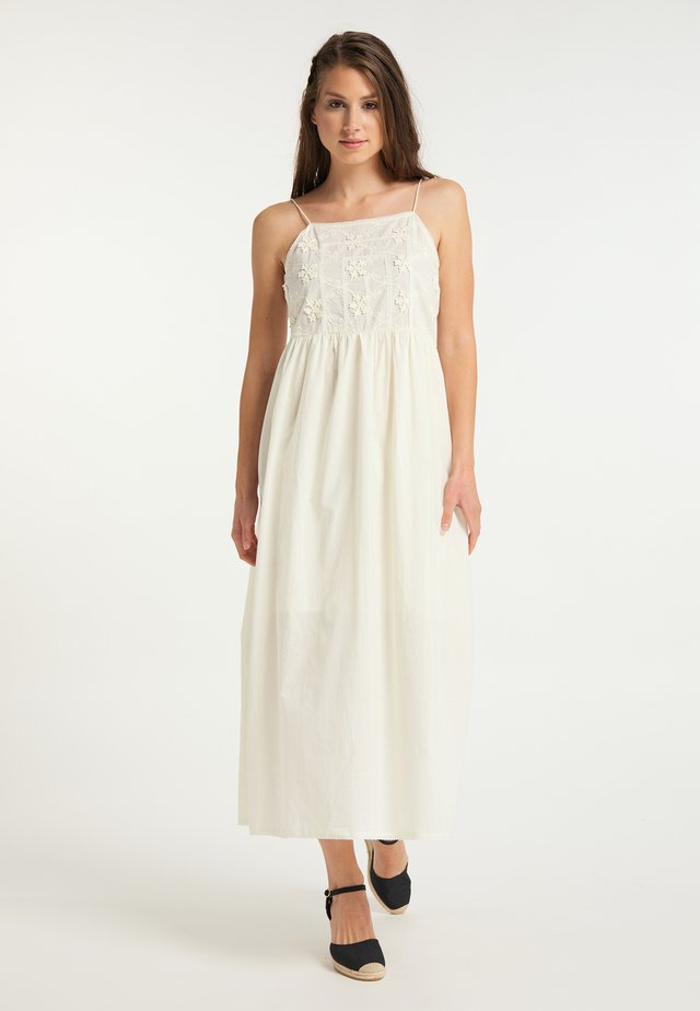 Maxi dress - wollweiss