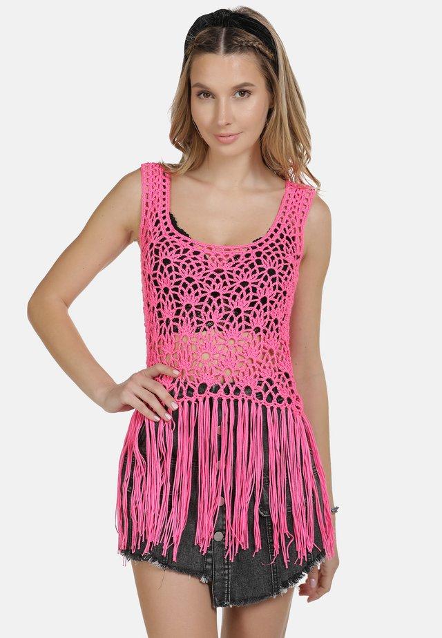 IZIA TOP - Débardeur - neon pink